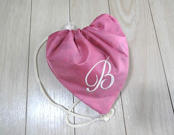 ビューティブーケハリつや実感1ヵ月セットのプレゼント品のエコバッグ